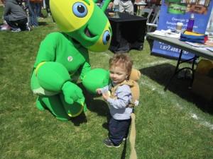 Meeting a cricket