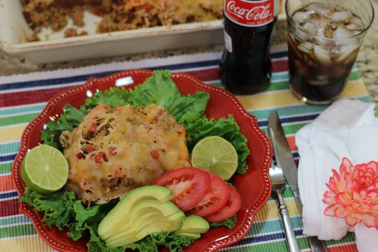 Great with Coca-Cola de Mexico Easy Recipe for Mexican Casserole