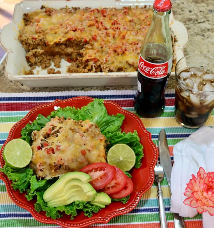 Great with veggies - Easy Recipe Mexican Casserole