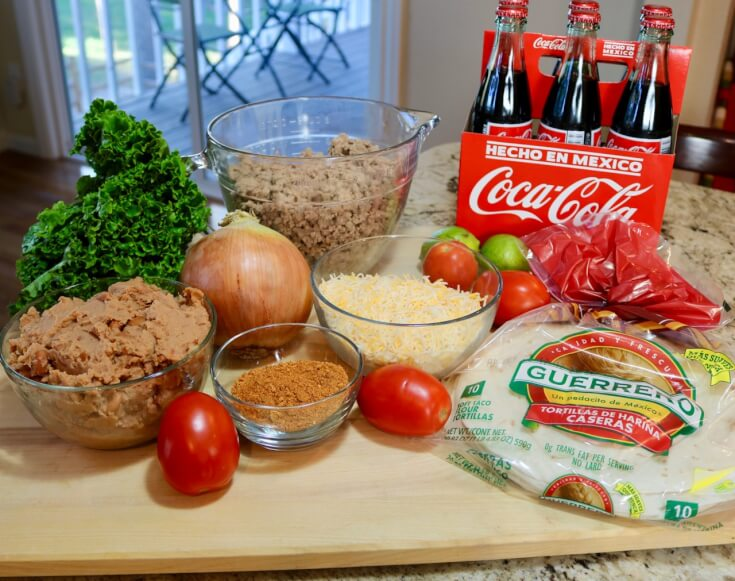 Ingredients for an Easy Recipe Mexican Casserole