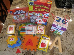 "Letter ""A"" Items"