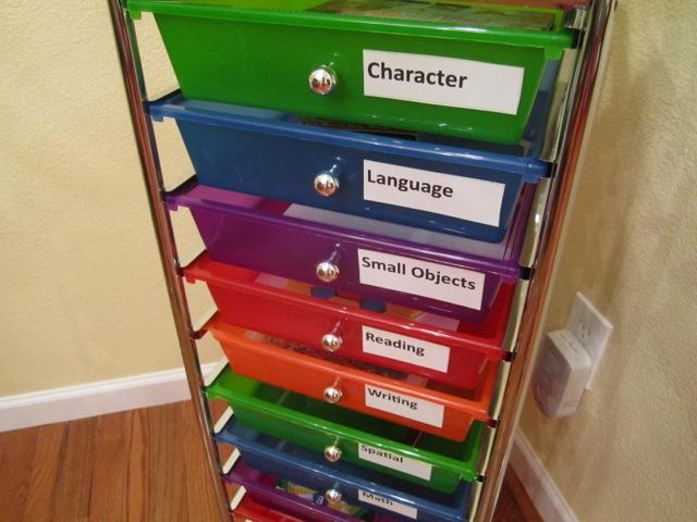 Montessori Preschool with FREE Montessori Planning Charts