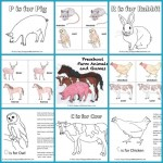 preschool farm animals