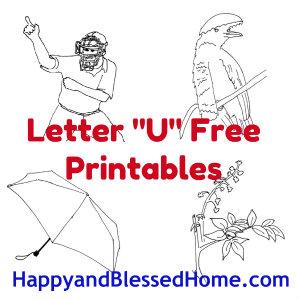 free alphabet printables
