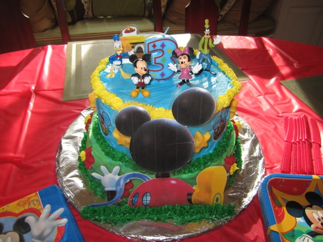 88 Mickey Mouse Birthday Cake At Walmart