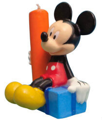 Mickey Mouse Birthday Party Candle
