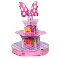 Minnie Mouse Birthday Party Cupcake Stand