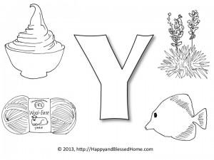 """Preschool Alphabet Games - Letter """"Y"""""""