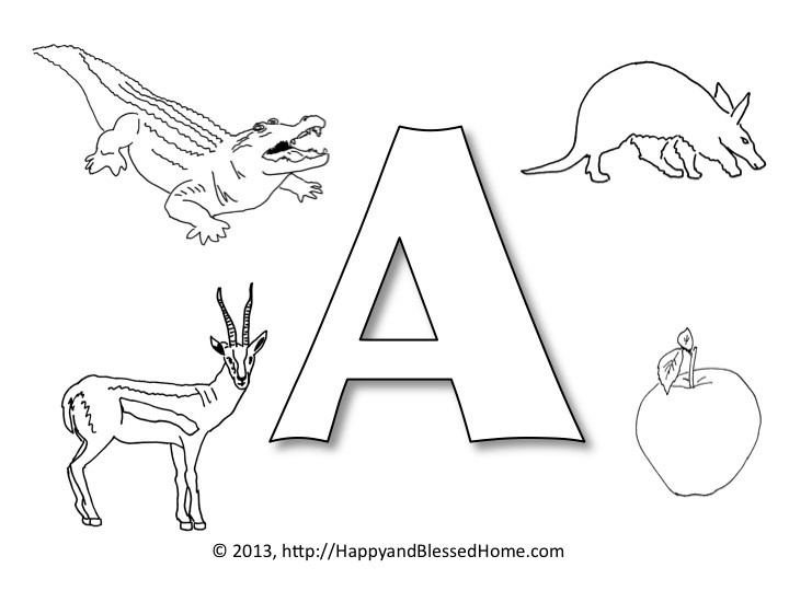 letter a printables for toddlers preschool alphabet printables letter quot a quot happy and 21010 | Slide2