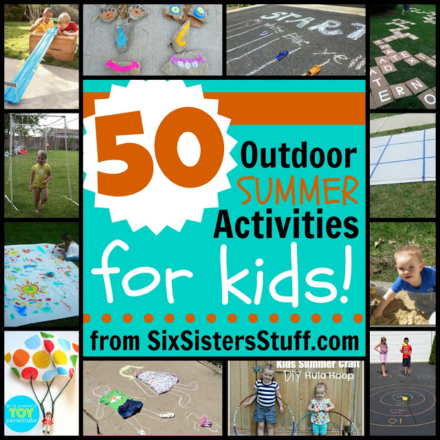 family-fun-50 summer activities for kids