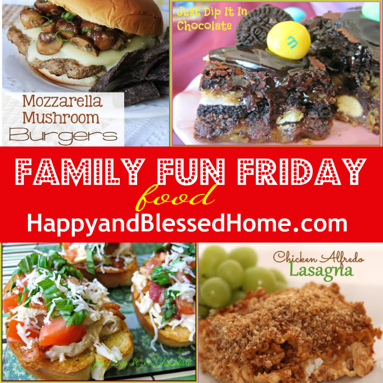 HappyandBlessedHome-Family-Fun-Friday-food-Aug-8-2013