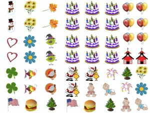 graphic regarding Printable Calendar Stickers known as No cost Calendar Stickers and Free of charge Tracing Calendar