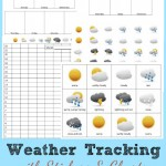 Preschool Activities – Weather Tracking