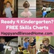 Pre-School prep for Kindergarten at HappyandBlessedHome.com