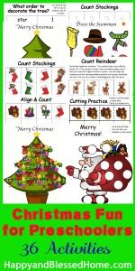 christmas-fun-for-preschoolers-HappyandBlessedHome.com