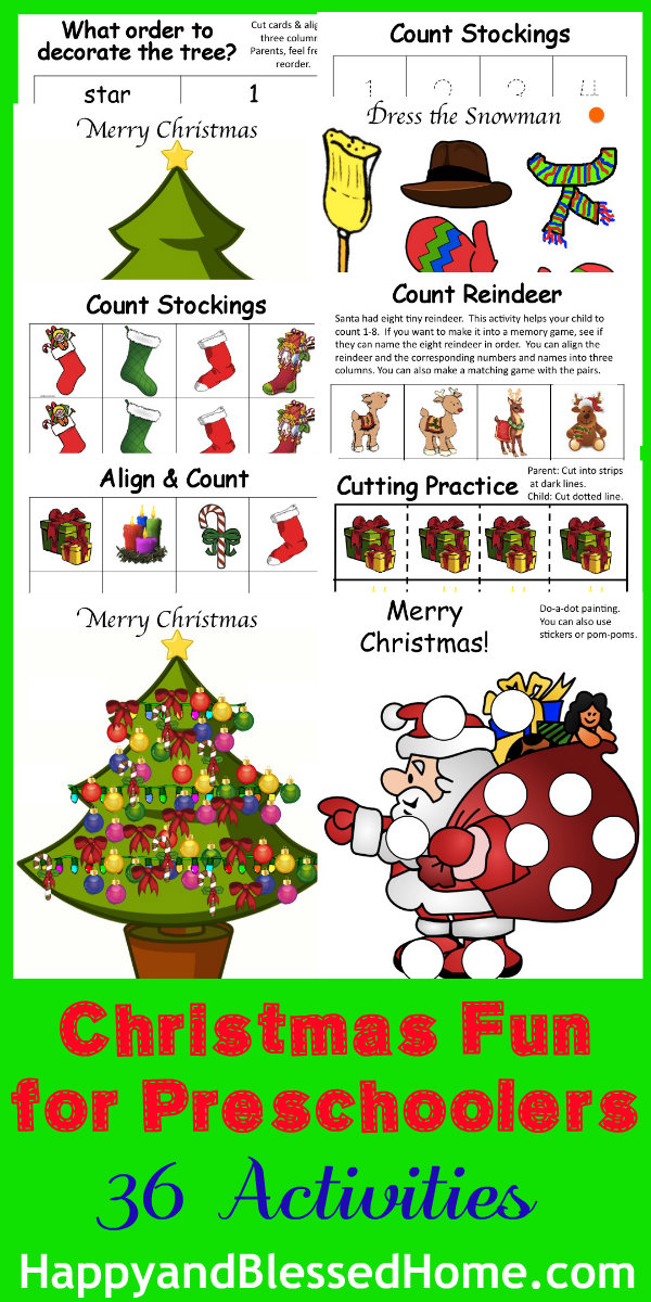 christmas-fun-for-preschoolers-HappyandBlessedHome.com
