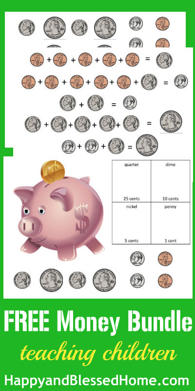 Counting Money Printable Worksheets