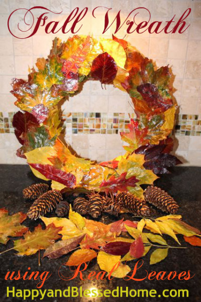 fall-wreath-from-real-leaves-button-HappyandBlessedHome