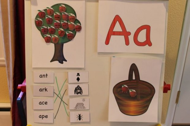 learn-to-read-preschool-alphabet-letter-A-6 HappyandBlessedHome.com