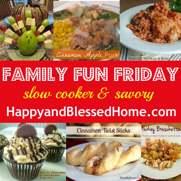 Family-Fun-Friday-Slow-Cooker-Savory-HappyandBlessedHome.com