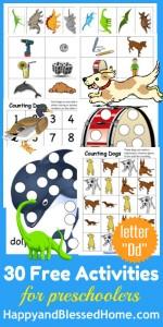 Learn-to-Read-Preschool-Alphabet-Letter-D-HappyandBlessedHome.com