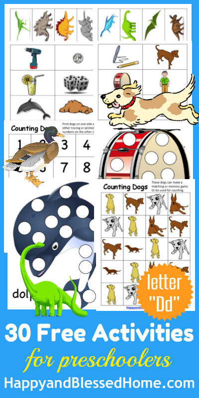 Learn-to-Read-Preschool-Alphabet-Letter-D-HappyandBlessedHome.com