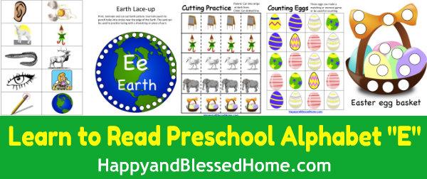 Learn-to-Read-Preschool-Alphabet-letter-e3-HappyandBlessedHome.com