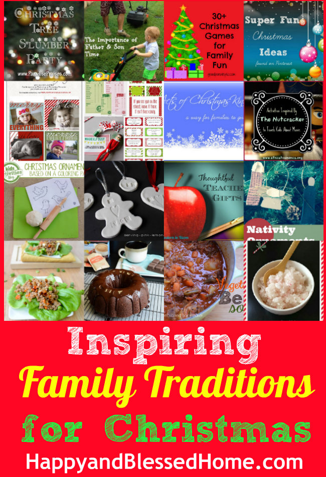 Family-Traditions-for-Christmas-HappyandBlessedHome.com