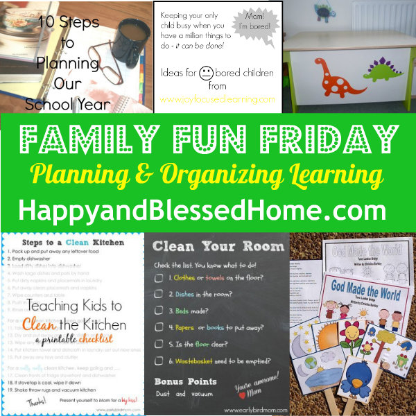 Planning-and-Organizing-Learning-HappyandBlessedHome.com