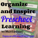 Montessori Style Preschool at HappyandBlessedHome.com