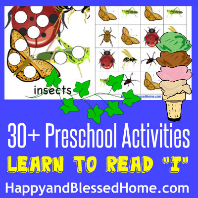 400-Learn-to-Read-Preschool-Alphabet-Letter-I-HappyandBlessedHome.com