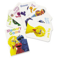 Birthday Express Sesame Street Memory Game