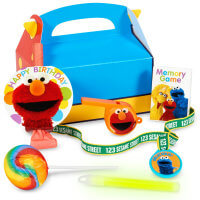 Sesame Street Favor Box