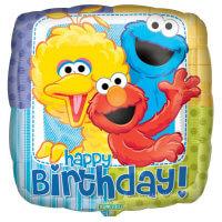Sesame Street Foil Balloon