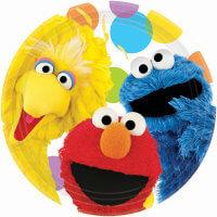 Sesame Street Plates