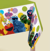 Sesame Street Tablecloth