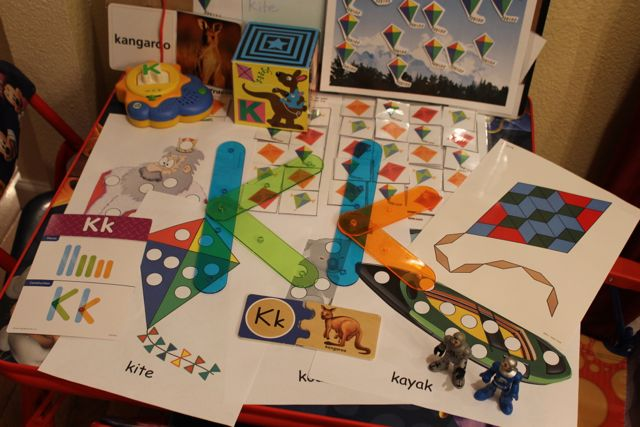 2 Learn to Read Preschool Alphabet Letter K HappyandBlessedHome.com