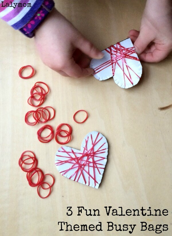 3-Fun-Valentine-Themed-Busy-Bags-Loom-Bands-Fine-Motor-Hearts