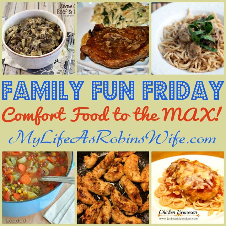 Family Fun Friday Family Approved Recipes