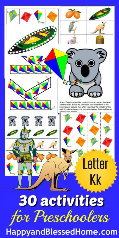 Learn-to-Read-Preschool-Alphabet-Letter-K-HappyandBlessedHome.com_1