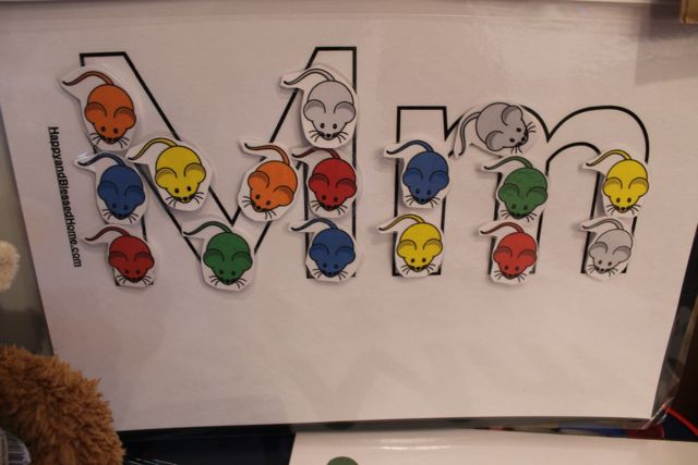Learn to Read Preschool Alphabet Letter M 1 from HappyandBlessedHome.com