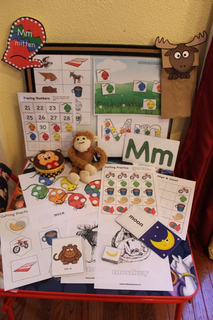 Learn to Read Preschool Alphabet Letter M 3 from HappyandBlessedHome.com