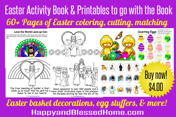 Easter Activity Book and Printables Buy Now 600 x 400