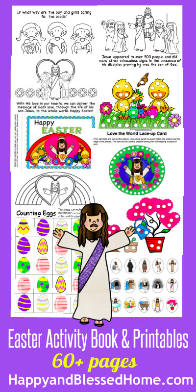 Family Fun Friday Week 63 And 100 Easter Party Ideas Happy And Blessed Home