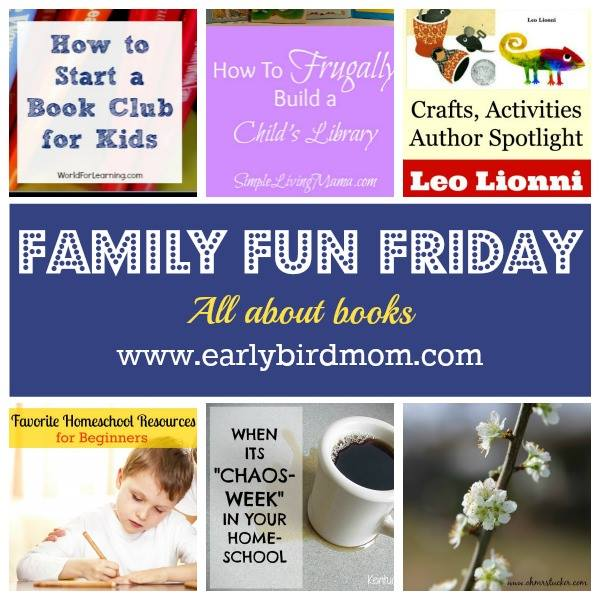 Family Fun Friday All About Books