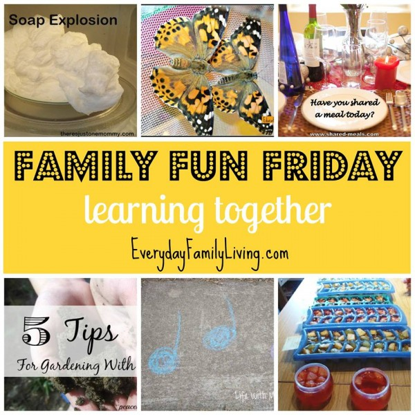 Family Fun Friday Learning Together