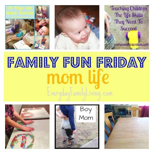 Family Fun Friday Mom Life