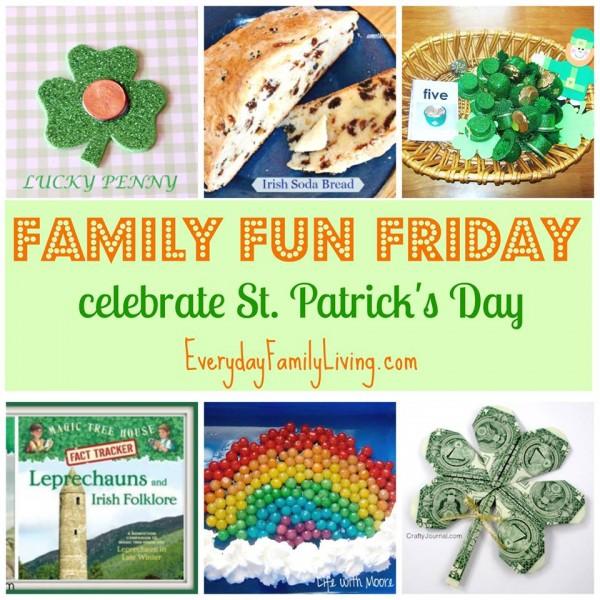 Family Fun Friday St Patricks Day Fun