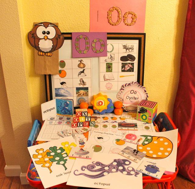 Learn to Read Preschool Alphabet Letter O 1