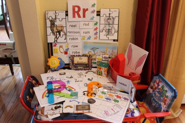 Learn to Read Preschool Letter R1 HappyandBlessedHome.com